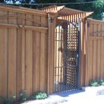 #26 There is an additional charge for this custom gate style.